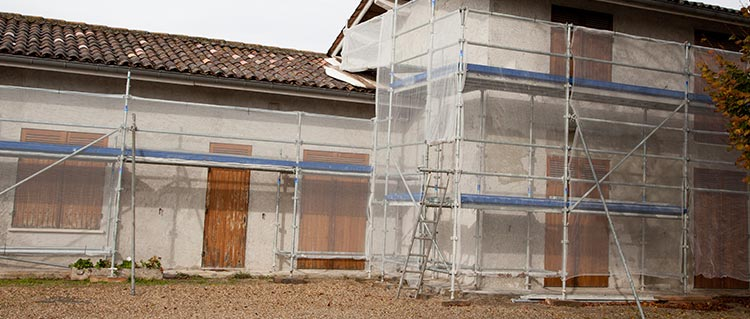 demande de devis ravalement de facade Aurillac